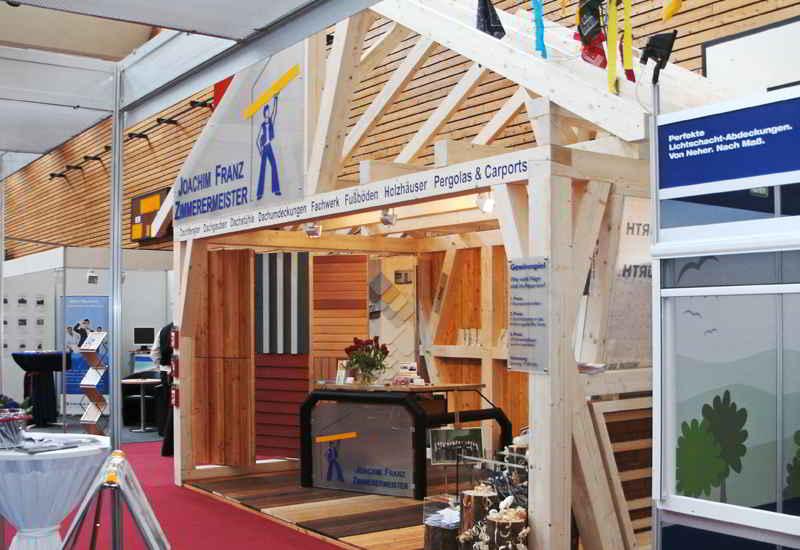 Zimmerei Franz Auf Der Messe »Bau-Energie-Umwelt« In Waiblingen