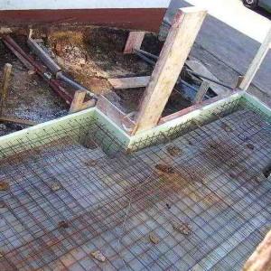 12 - Fundamentarbeiten Für Den Wintergarten
