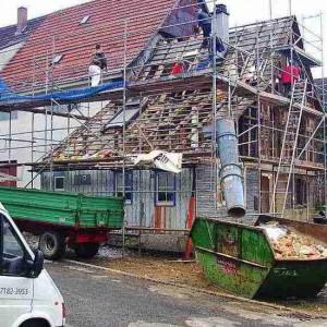 14 - Bauphase 2: Abbruch Altes Gebäude