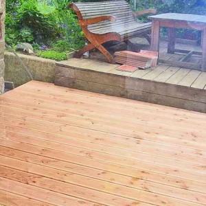 30 - Die Garten-Terrasse Während Des Umbaus