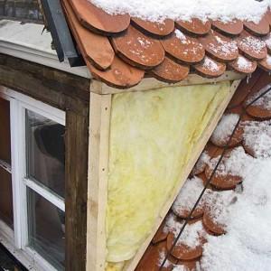 13 - Dämmung Und Schalung Der Dachgauben