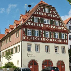 16 - Das Rathaus Nach Der Restaurierung