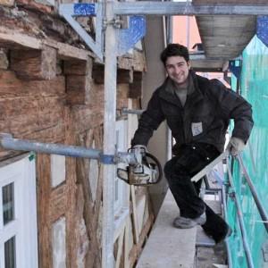 4 - Zimmerermeister S.Mantel Bei Anpassarbeiten