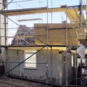 2 - Teilabriss Des Alten Gebäudes Bis Zum Erdgeschoss