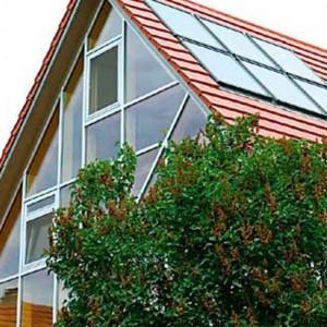 6 - Vakuum-Solarkollektoren Der Firma Velux Auf Dem Neuen Dach